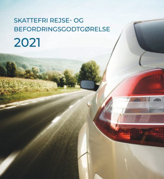 Skattefri rejse- og befordringsgodtgørelse 2021